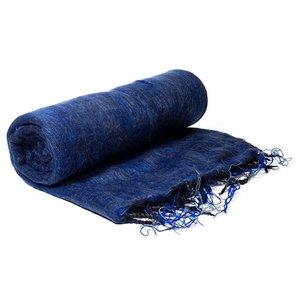 omslagdoek meditatie blauw