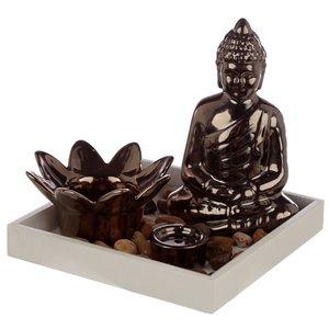 boeddha wierookhouder en theelichthouder