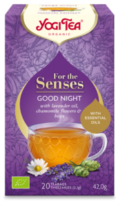 yogi tea goodnight for the senses