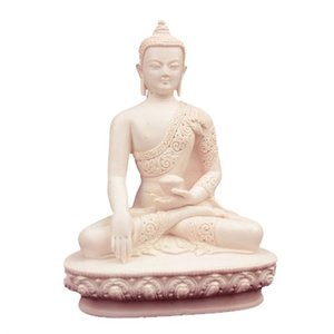 shakyamuni boeddha wit polyresin