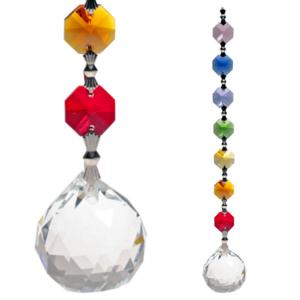 chakra kristal regenboog