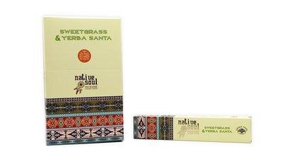 native soul yerba santa sweet grass