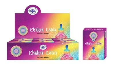 chakra lotus wierook kegels