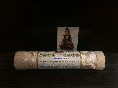 tibetaanse wierook chenrezig