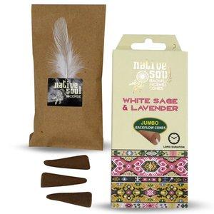 white sage & lavender backflow wierook