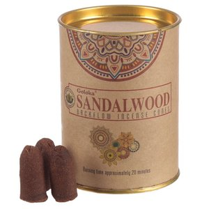 goloka sandalwood backflow wierookkegel