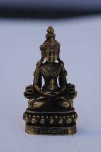 Avalokitheswara brons 3,5 cm