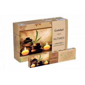 goloka aromatherapy nutmeg