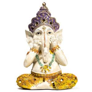 ganesha beeld in kleur