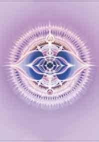 kaart derde oog chakra mandala