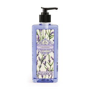 floral lavender handzeep