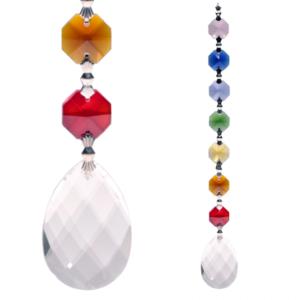 regenboog kristal chakra amrita