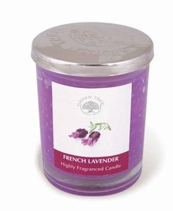 french lavender geurkaars