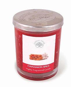 green tree geurkaars cinnamon spice