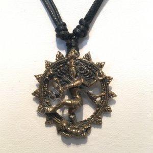 shiva dansend brons hanger