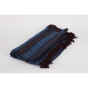 meditatie deken gestreept