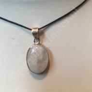 hanger maansteen zilver