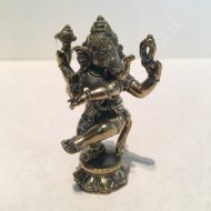 ganesha dansend brons